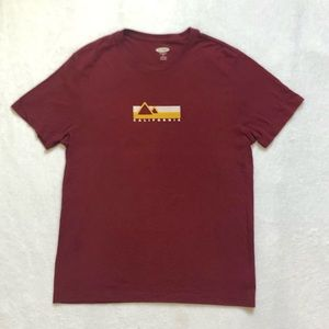 Old Navy Burgundy California Camp Sequoia Graphic T-Shirt